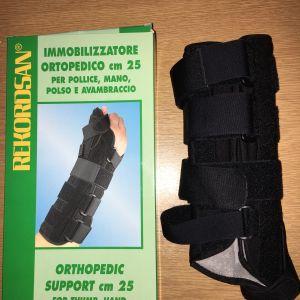 Ορθοπεδικός νάρθηκας REKORDSAN ακινητοποίησης δεξιού χεριού σε άριστη κατάσταση