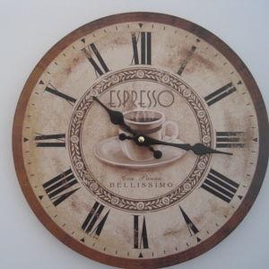 Ρολοι τοιχου ξυλινο ESPRESSO 33 εκ.