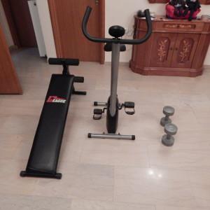 Ποδήλατο και Πάγκος Γυμναστικής, Βαράκια