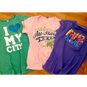 3 μπλούζες Zara & Nike για 10-13 ετων