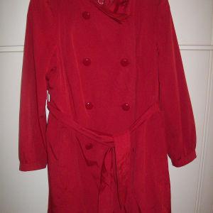 Καμπαρντίνα κόκκινη Debemhams England