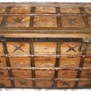 Μπαούλο ξύλινο