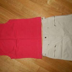 m&s φουστα uk10 και δωρο το μπλουζακι