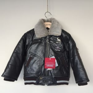 New with tag! Lapin House Jacket Baby Toddler infant Aviator Biker 18 months-86cm