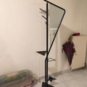 Μοντέρνος Μεταλλικός Καλόγερος με Καθρέπτη