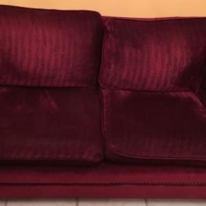 Διθέσιος και τριθέσιος καναπές, χειροποίητοι, σε καλή κατάσταση