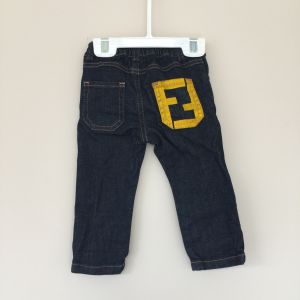 Fendi Baby Jeans 12 months like new