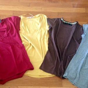 4 μπλούζες TALLY WEiJL καινούργιες no medium