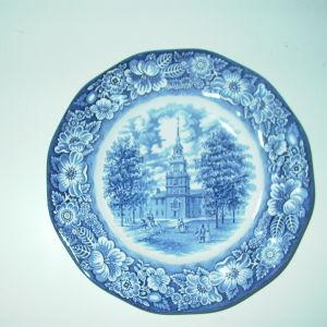 Πορσελάνινο πιάτο Liberty Blue 1976